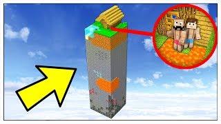 SOLO 1% DEI GIOCATORI SOPRAVVIVONO IN QUESTO MONDO! - Minecraft ITA