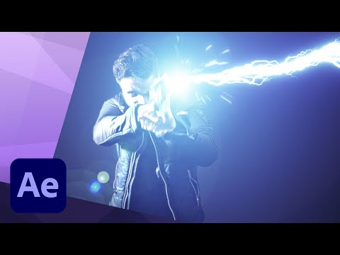 HOW TO CREATE A SCI FI GUN BLAST in AFTER EFFECTS