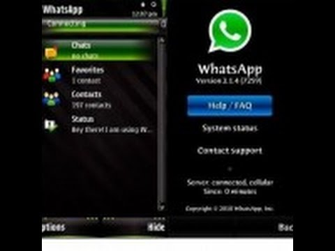 Nokia 206 WhatsApp - YouTube