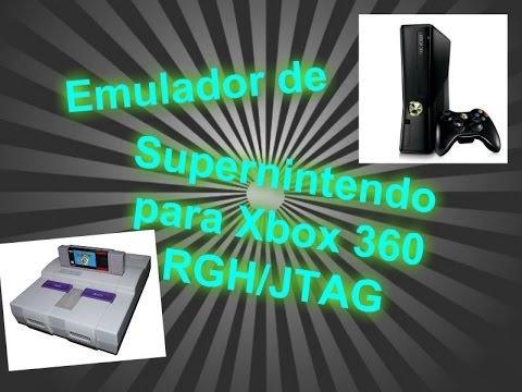 Cómo instalar emulador de Snes para Xbox 360 RGH/JTAG