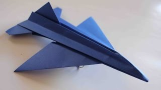 download musica Como hacer un Avion de Papel que Vuela Mucho - Aviones de Papel - Origami Avión F16