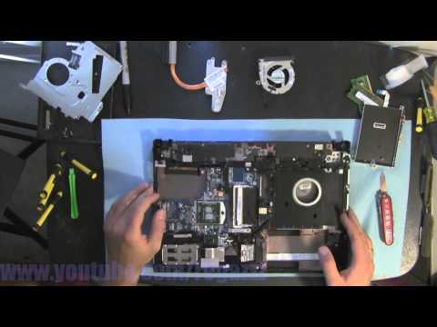 HP PROBOOK 4420S take apart video. disassemble. how to open
