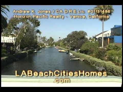 The Venice Canals . Venice Beach Real Estate Video Tour 2