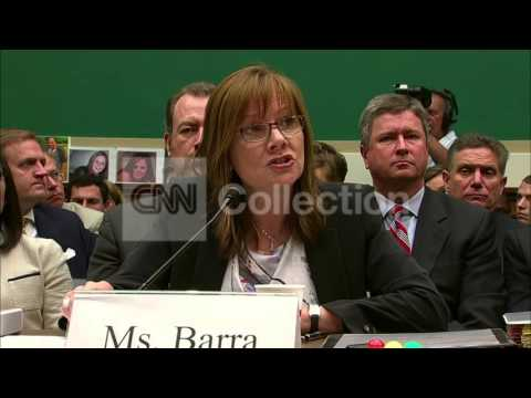 GM HRG:MARY BARRA-SHOULD NEVER HAVE HAPPENED