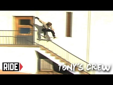"Tony Hawk, Riley Hawk, Aaron ""Jaws"" Homoki and Crew go VX- Tony's Crew"