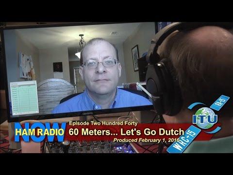 HRN 240: 60 Meters - Let's Go Dutch
