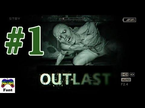Играем в Outlast с Фантом.  Прохождение. Часть 1.