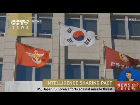 U.S., Japan, S. Korea efforts against DPRK's missile threat