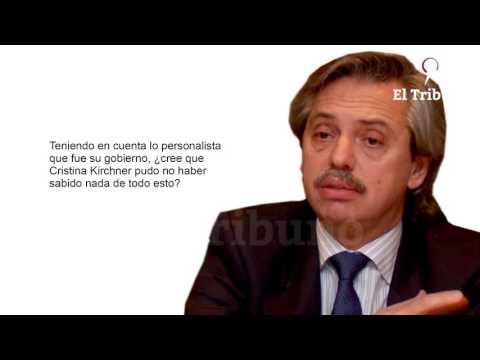 Entrevista exclusiva con Alberto Fernández
