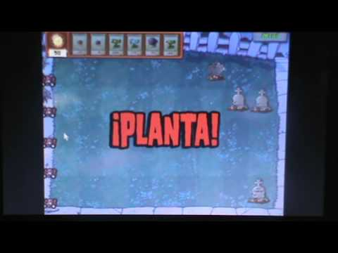 game play del juego de plantas vs zombies + 3 trucos