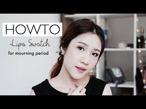 Howto แต่งหน้าโทนสุภาพ+ Swatch Lipsticks