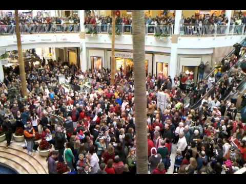 Flash Mob - Westfield Valencia Town Center in Valencia, Ca. - Hallelujah Chorus