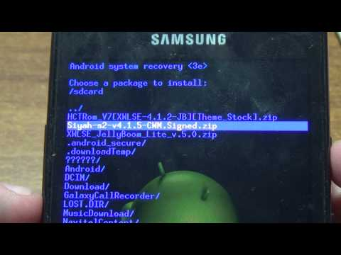 How to install Clockworkmod Recovery(CWM) On Samsung Galaxy...