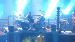 Rammstein live in Las Vegas May 21 2011 - Haifisch (with Combichrist)