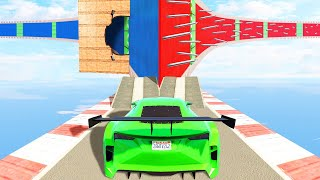 MOST CONFUSING STUNT RACE EVER MADE! (GTA 5 Funny Moments)