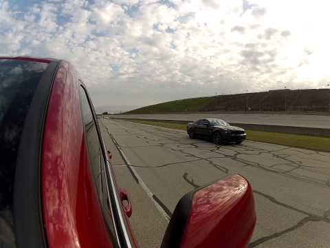 Jeep SRT8 vs. 5.0 Mustang GT w/ DRs