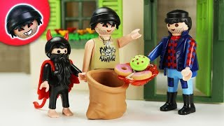 Happy Halloween! - Teil 1   Playmobil Polizei Film   KARLCHEN KNACK #290