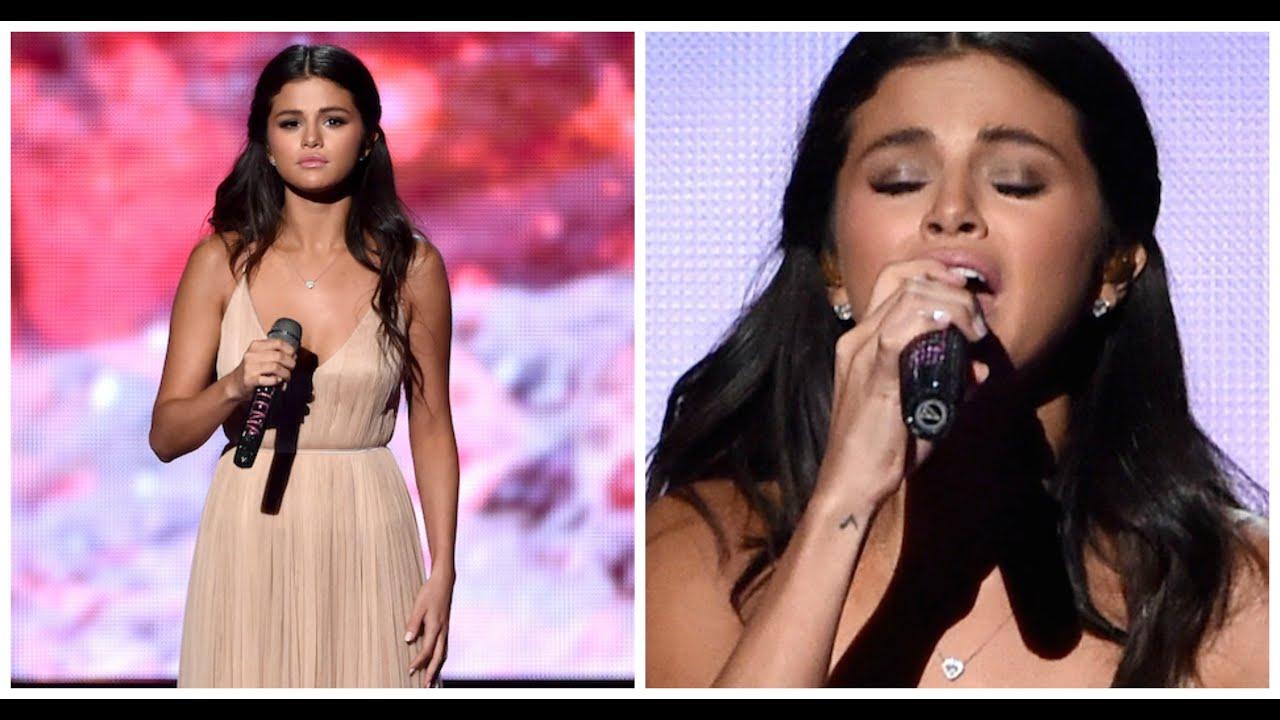 selena gomez american music awards 2014 makeup amp hair
