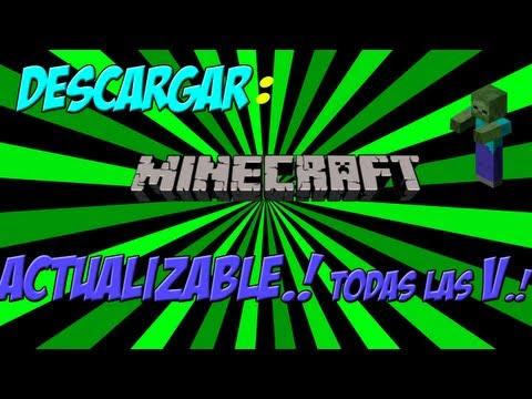 descargar minecraft gratis 1.5.2 (Actualizable) En español.