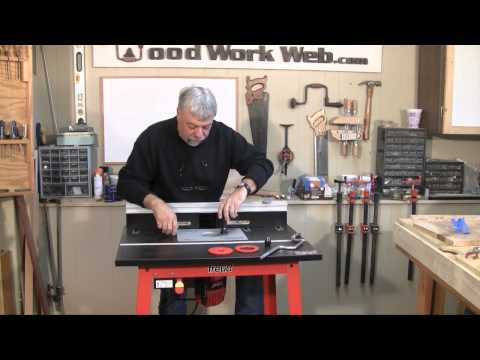 Woodworking   Freud Router and Router Table Review