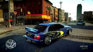 Subaru Impreza WRX STI Sport Car for GTA IV