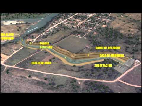 Proyecto Hidroeléctrico Cerro de Oro en Tuxtepec, Oaxaca, México.