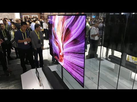 Обзор телевизора-обоев LG W толщина 2,57 миллиметра