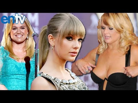 Taylor Swift, Wardrobe Malfunctions and Country Music Awards 2013 Highlights - ENTV