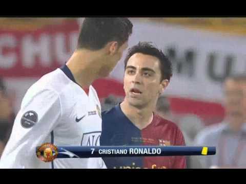 Cristiano Ronaldo vs Carles Puyol part 1