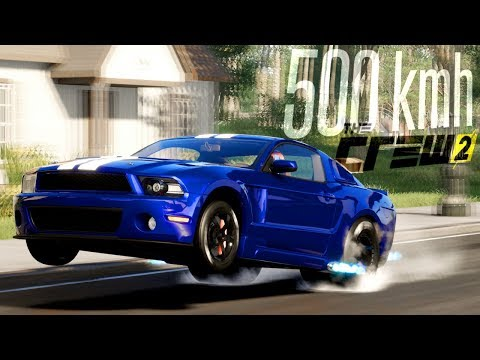 The Crew 2: MUSTANG A 500 KM/H!!! IMPENNA