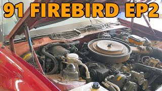 1991 Pontiac Firebird Project Lift Struts and Various Small Parts (Ep.2)