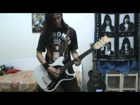 RAMONES - ♫ Pet Sematary (Guitar cover)(We're Outta Here)