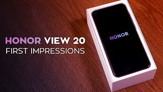 Honor View 20 First Impressions: OnePlus 6T Better Watch Out!