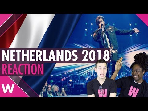 "Netherlands | Eurovision 2018 reaction video | Waylon ""Outlaw in 'Em"""