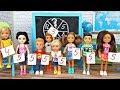 МАТЕМАТИКА С ПОДВОХОМ – ИГРА НА УРОКЕ В ШКОЛЕ . Мультик с куклами Барби