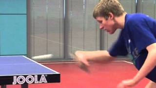 Backhand Counterspin - Table Tennis Coaching