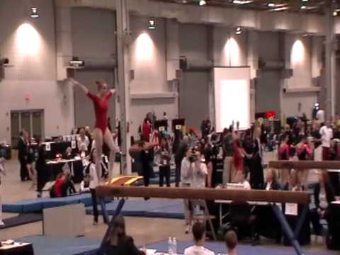 Jessica Juncaj (2014) - Beam - 2012 Regionals