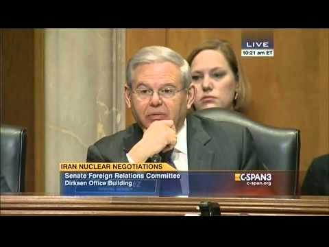 Menendez: Obama Admin Statements on Iran 'Sound like Talking Points Straight out of Tehran'
