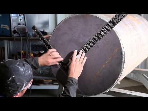 Lawn Roller Repair with the Millermatic 211 MIG welder