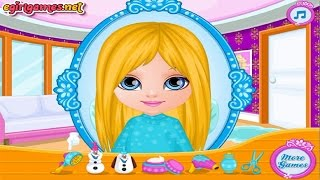 Baby Barbie Frozen Game For Kids
