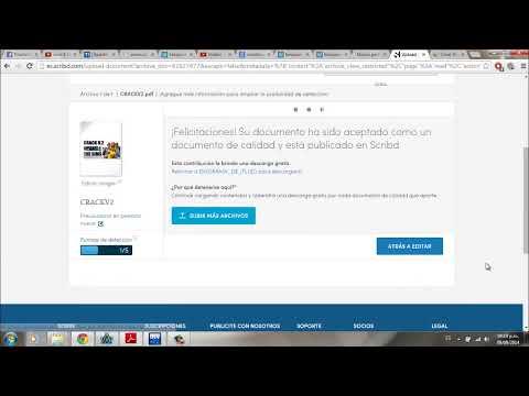 Cómo descargar documentos gratis de Scribd 2014
