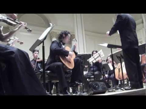 Nilko Andreas plays Concierto del Sur by Manuel Ponce