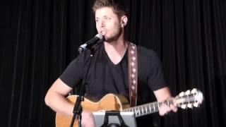 Jensen Ackles singing Simple Man at #VanCon