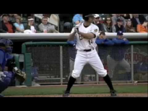 Salt Lake Bees Walkup song - Chris Pettit Video