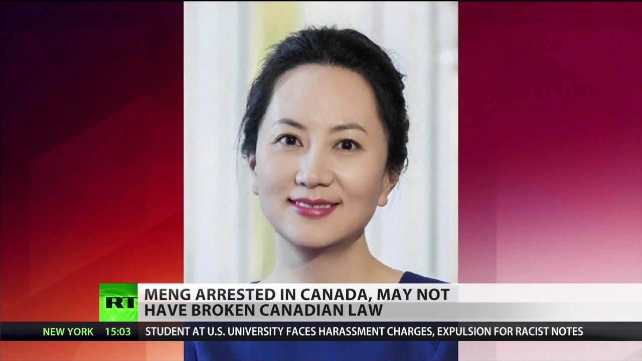 Chinese tech mogul arrested in Canada