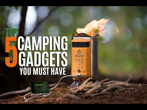 Top 5 Camping Tech Gadgets you MUST have in 2017!