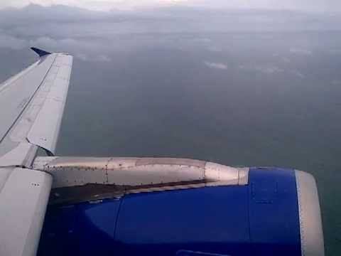 Dabolim Airport, Goa, India, Monsoon Thunderstorm Take off on Indigo Airbus A320 for Delhi