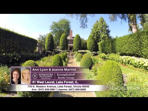 Ann Lyon - 81 W  Laurel, Lake Forest, IL