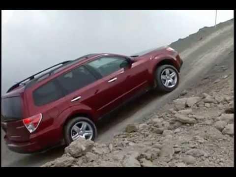 2011 Демонстрация внедорожных качеств Subaru Forester