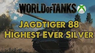 Jagdtiger 88 - My Highest Ever Silver - WoT Xbox One